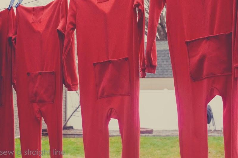 Union suit flap